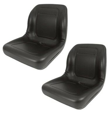2 Of High Back Seats For John Deere Trail Turf Gator Skid Steer Loader 70 125