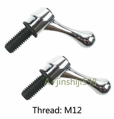 2pcs Bridgeport Part Head Milling Machine Table Lock Mill Bolt Handle M12 Thread