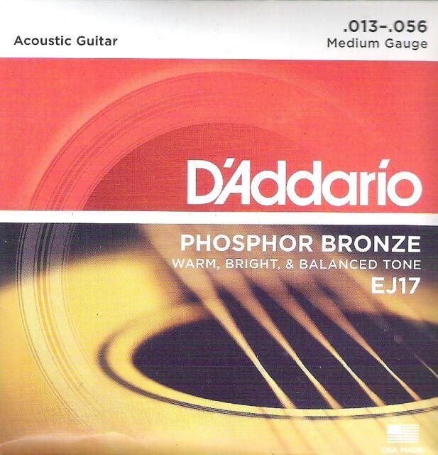 D'Addario EJ17 für Akustikgitarre, 13er, I4