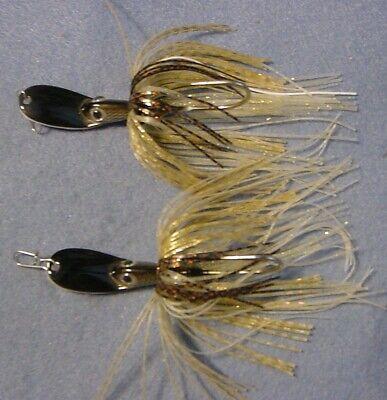 4 3//8 oz. Poison Tail Jigs//Swim Jigs Custom  Shad Patterns
