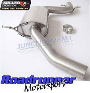 Milltek Scirocco GT 2.0 TSI Exhaust Resonated Centre Section 2.75