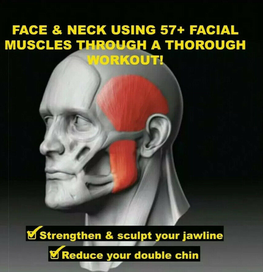 Neck and Jaw Define and Tone Your Face Jaw Line Exerciser Slim