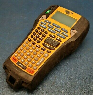 Dymo Rhino 6000 Handheld Portable Industrial Label Maker Tested Working.