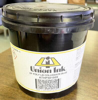 Union Ink Athletic Plastisol Ink-poly Collegiate Blue - Quart Athp5015q