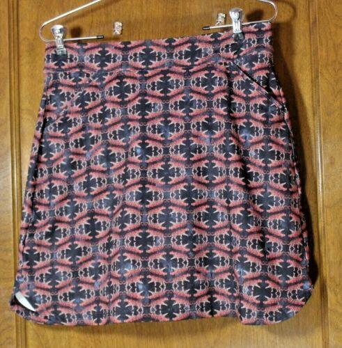 NEW Peter Millar Sport Skirt black tiger print skort golf skirt MEDIUM