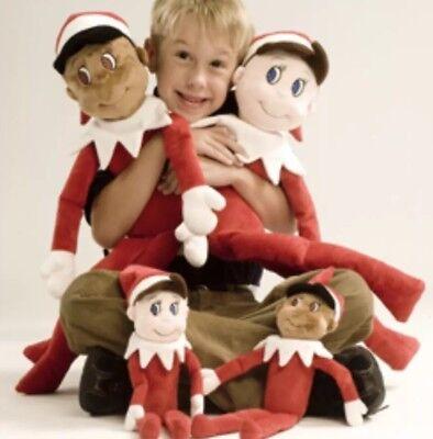 """Elf On The Shelf Plush Plushee Huge 32"""" Rare Stuffed Animal Magic - Elf On The Shelf Stuffed Animal"""