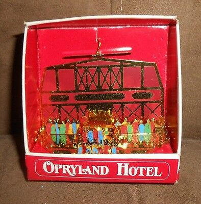 Country Christmas at Opryland Hotel  Solid Brass Holiday Ornament in Box  ()