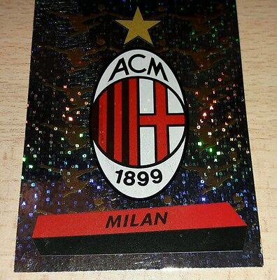 FIGURINA CALCIATORI PANINI 2000-01 MILAN SCUDETTO N°217 ALBUM 2001