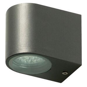 Applique lampada a led da parete per esterno in acciaio - Lampade da esterno philips ...