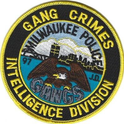 WISCONSIN - Milwaukee Police Gang Crimes Intelligence Division patch