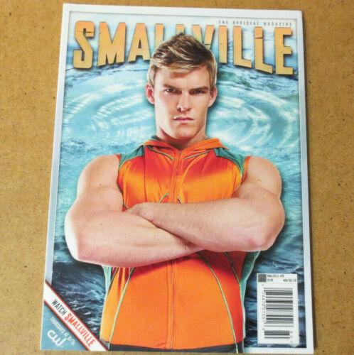 SMALLVILLE Magazine AQUAMAN - Alan Ritchson Black Canary Supergirl Titans Hawk