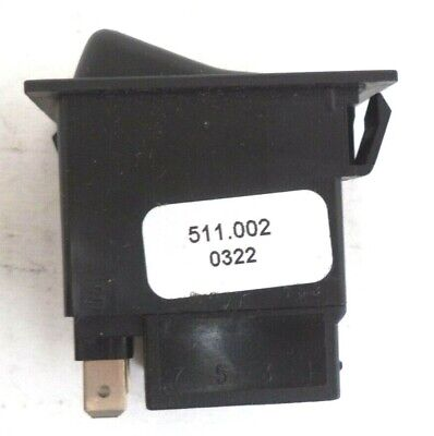 Swf 511 Series 4-pin Rocker-style Flush-mount Panel Switch Pn 511.002