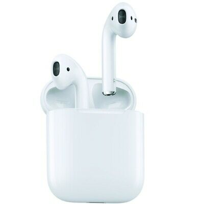 APPLE AIRPODS WIRELESS BLUETOOTH IN EAR HEADPHONES WHITE GENUINE MMEF2ZM/A