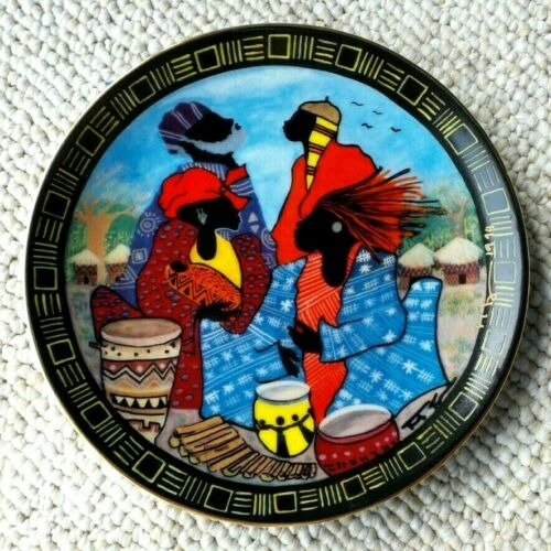 1994 SPIRIT OF SANKOFA BY FRANK FRAZIER COLLECTOR PLATE SAVACOU GALLERY