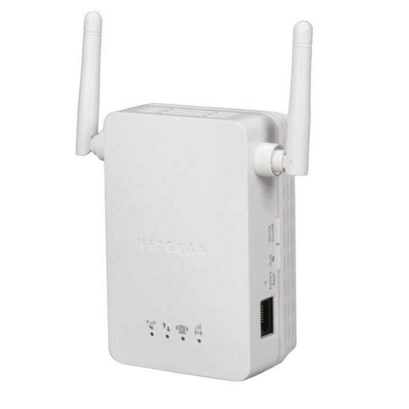 NETGEAR - Universal WiFi Range Extender with Ethernet Port - White