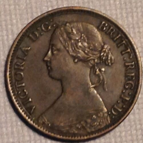 1868 Great Britain Victoria Farthing