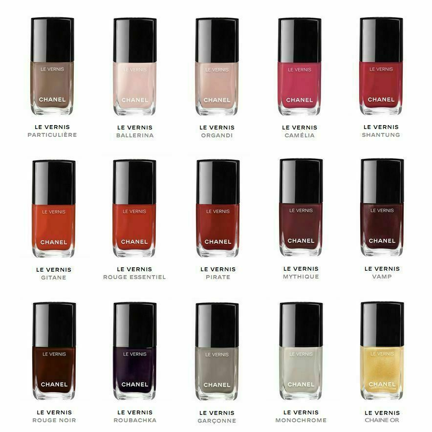 CHANEL LE VERNIS NAIL COLOR POLISH PICK YOUR SHADE AUTHENTIC NEW IN BOX