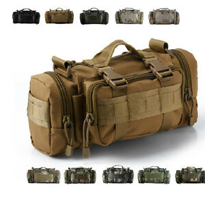 3P-Military-Tactical-Waist-Pack-Bag-Outdoor-Molle-Camping-Hiking-Backpack-TAN