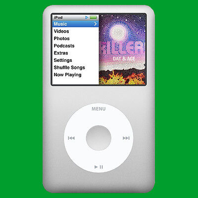 ✔️ NEW! Apple iPod Classic 7th Generation Silver (160 GB) Warranty (MC293LL/A)✔️