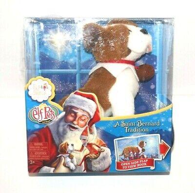 The Elf on the Shelf Pets: A Saint Bernard Tradition Plush and Children's Book