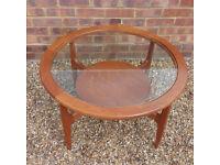 Mid century vintage retro Schreiber coffee table