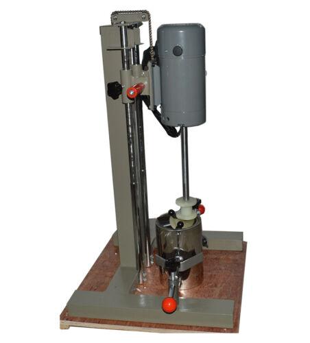 220V,1100W High-Speed Dispersion Mixer Machine Disperser  Emulsifier