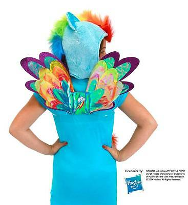 MY LITTLE PONY Friendship Magic RAINBOW DASH Glitter WINGS Costume PROP COSPLAY