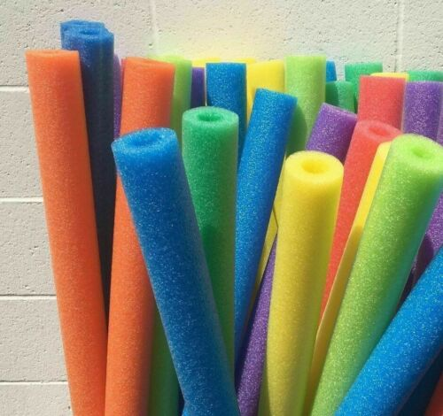 Lot 8x Noodle Swimming Pool Noodle therapy water floating foam random colors