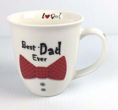 SALE: Father's Day Gift Best Dad Ever Mug Birthday Coffee Mug Cup 16oz! Home (Best Father's Day Sales)