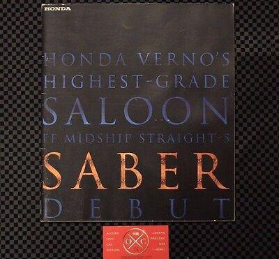 Honda Saber Brochure 2.5TL Acura Inspire TL CL 1996-98 3.2TL JDM Access UA1/2/3