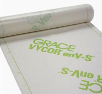Grace Vycor Env-s Weather Resistive Barrier - 40 X 120 Roll