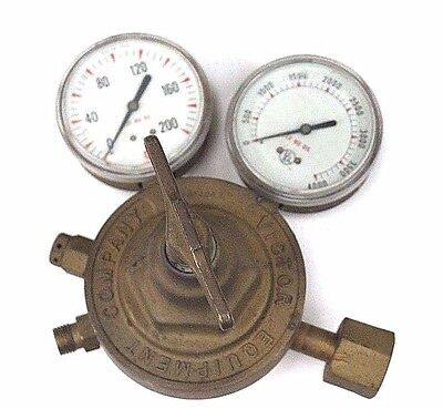 Victor Equipment Sr400d Regulator 2372958 W Gauges