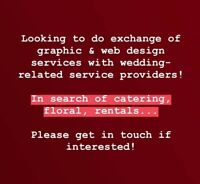 Exchange of services for wedding