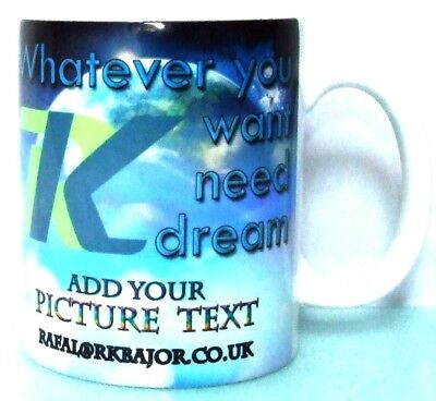 Paint Your Own Tea Cup (PERSONALISED CUP china mug a mug tea cup mug bundle paint your own)