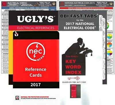 NFPA 70 2017 Package Based on National Electrical Code (NEC) FT-QC-UR-EW-RC-KWI
