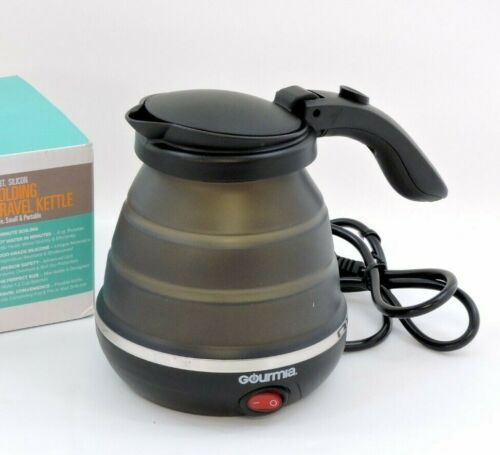 GOURMIA 1-2 Cup Electric Folding Travel Friendly Kettle (Black) Free Shipping