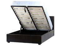 Prado Plus Double Storage Bed Frame **New