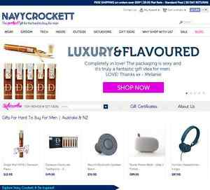 Unique Online Store (Men's Gifts) For Sale - Navy Crockett North Gosford Gosford Area Preview
