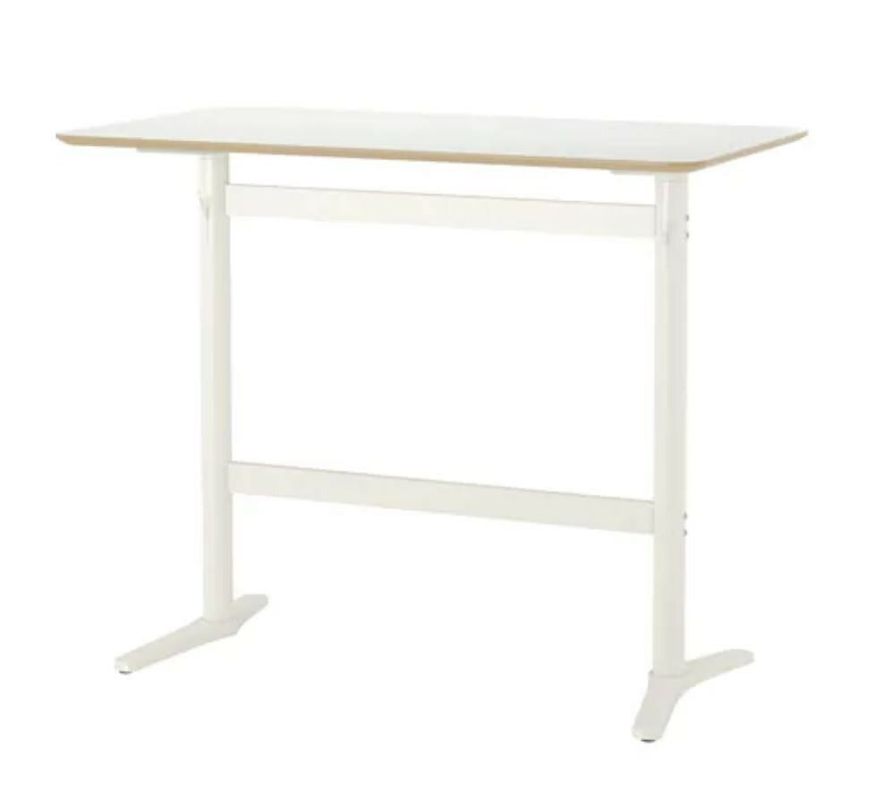 Ikea BILLSTA white bar table | in Raynes Park, London | Gumtree