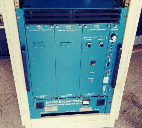 Lecroy 1440 System Modular Multichannel High Voltage CAMAC Control Mainframe (*)