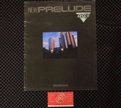1G Honda Prelude Catalog JDM 1979-82 80 81 78 Rare Brochure CVCC-II 2G 3G EDM