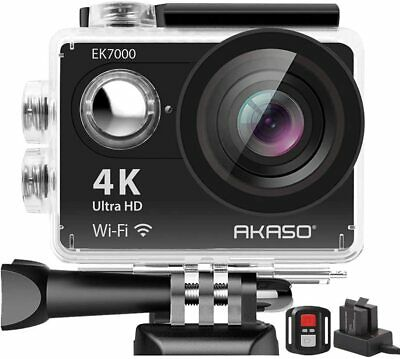 Action Camera AKASO EK7000 4K Sport Ultra HD Camcorder 12MP WiFi Waterproof Came
