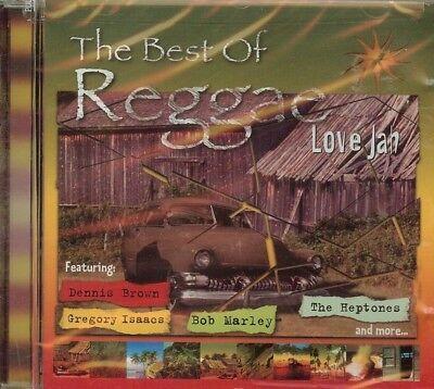 THE BEST OF REGGAE - LOVE JAH - VARIOUS ARTISTS - CD -