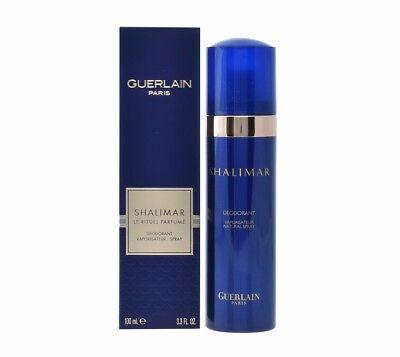GUERLAIN SHALIMAR DEODORANT VAPORISATEUR SPRAY 100 ML/3.4 FL.OZ. NIB-G26316 Guerlain Deodorant Spray