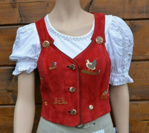 Bavarian dirndl Oktoberfest vest German Trachten vest Size 36