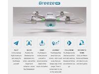 Portable 4K camera drone bundle