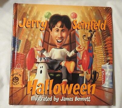 JERRY SEINFELD ~ HALLOWEEN BOOK ~ HARDCOVER ~ 2002 ~ 1ST Edition ~1+ SHIP