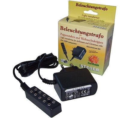 LED-Beleuchtung für Krippen oder Puppenhaus  3,5 Volt Kahlert NEU//OVP