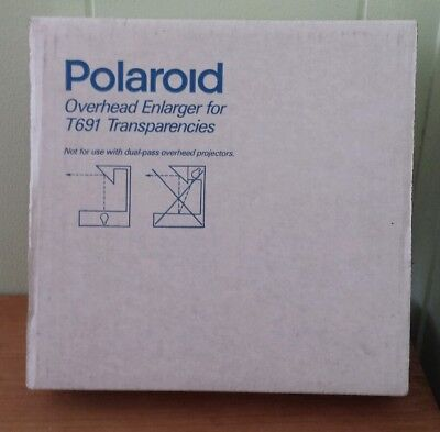 Vtg New Polaroid T691 Overhead Enlarger For Transparencies Usa