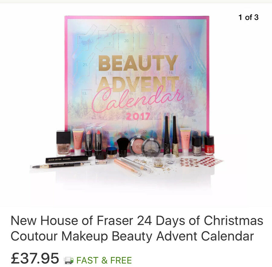 Beauty Advent Calendar 2017